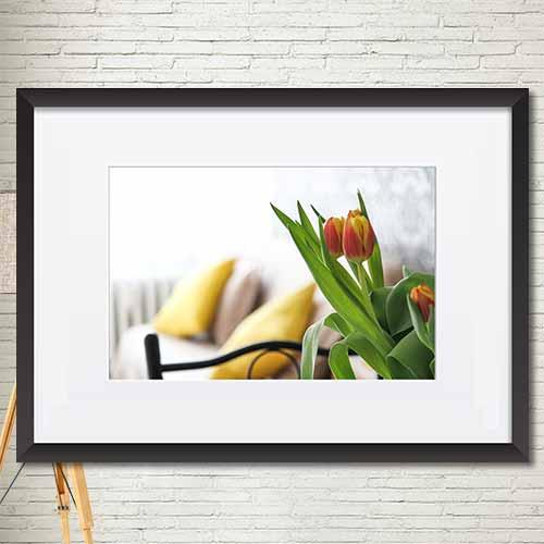 동물,꽃 포스터 매트액자 인테리어소품액자 가로 mtdmgr007